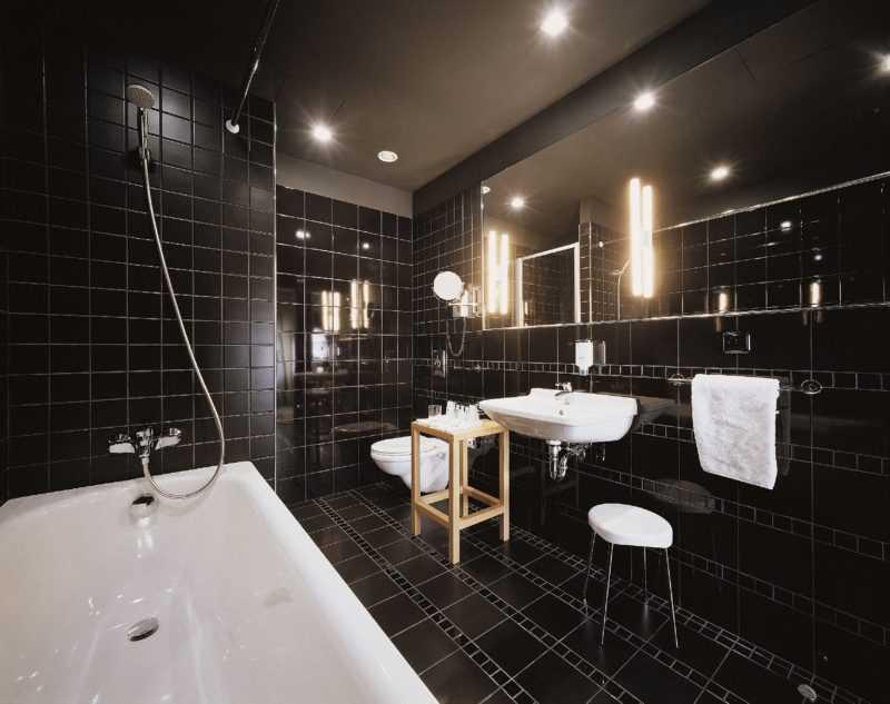 Оргнизация освещения ванной