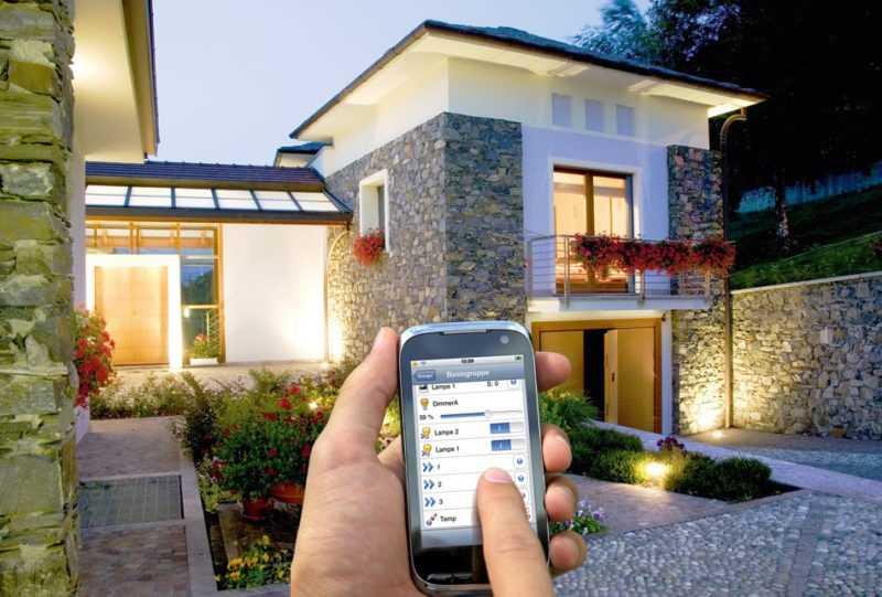Мобильная система управления освещением