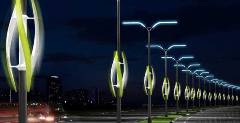 Уличное освещение с помощью светодиодных фонарей