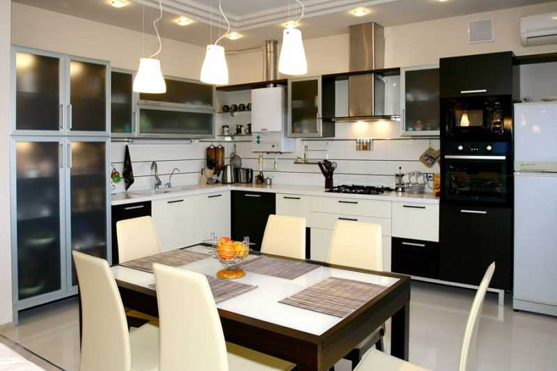 Дизайн светового оформления кухни
