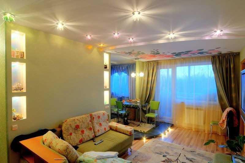 Источники искусственного освещения в квартире