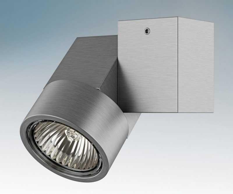 Накладной точечный светильник с поворотным механизмом