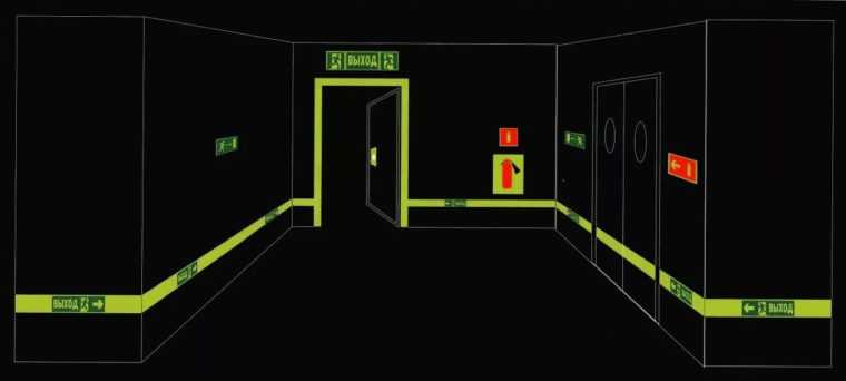 Пример реализации аварийного освещения