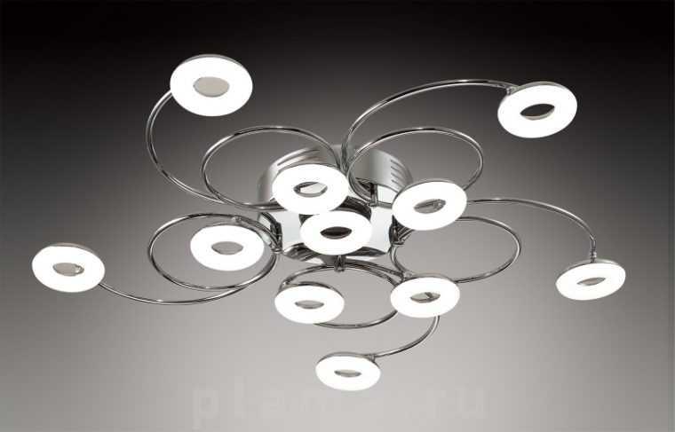 Потолочная светодиодная люстра для натяжного потолка