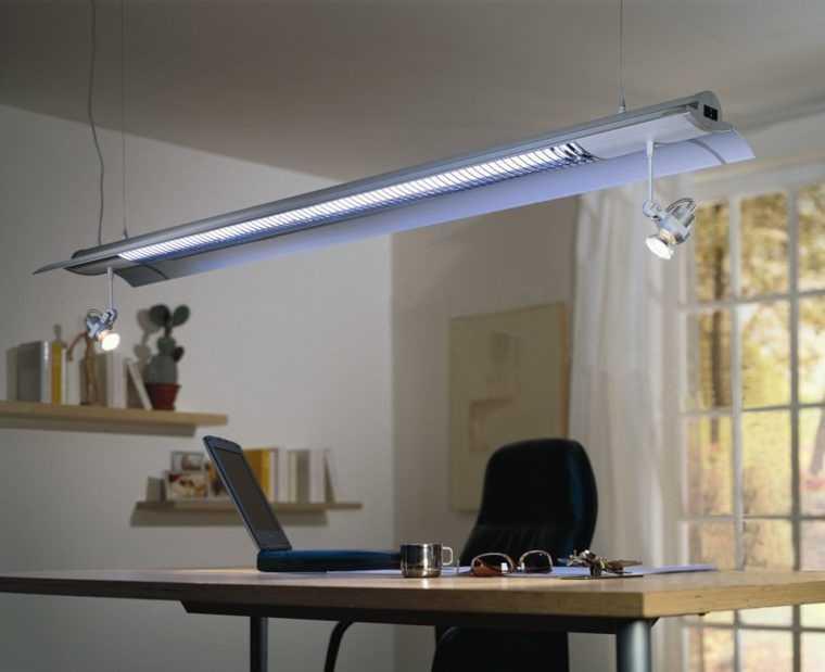 Подвесной светодиодный светильник с направленным светом