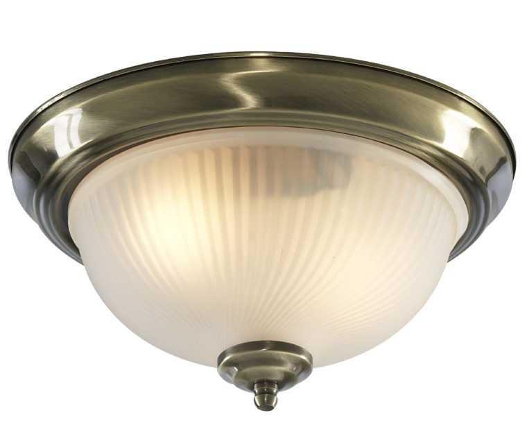 Плафон для ванной с лампами накаливания