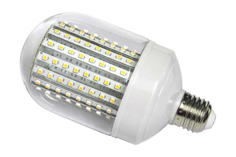 Светодиодная лампа освещения с цоколем Е27