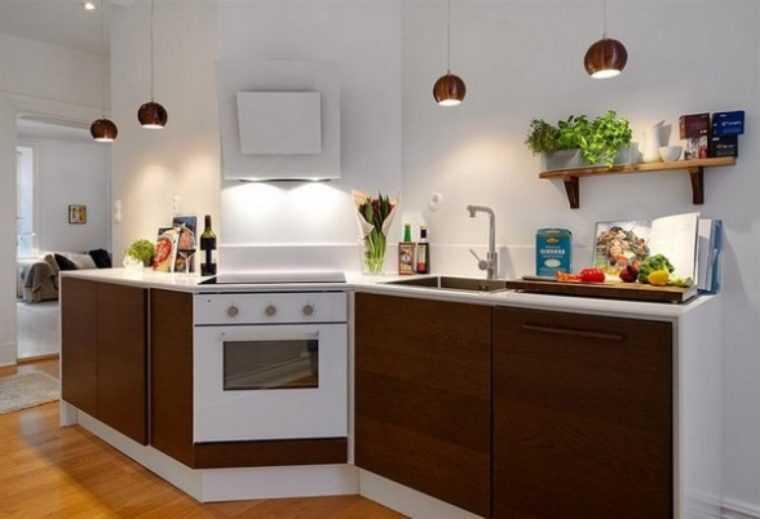 Разработка светового дизайна кухни