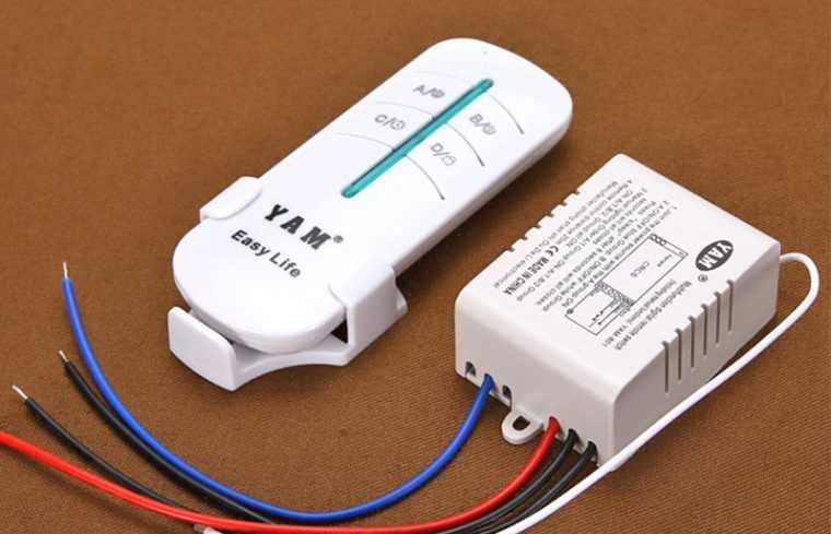 Оборудование для устройства дистанционного освещения