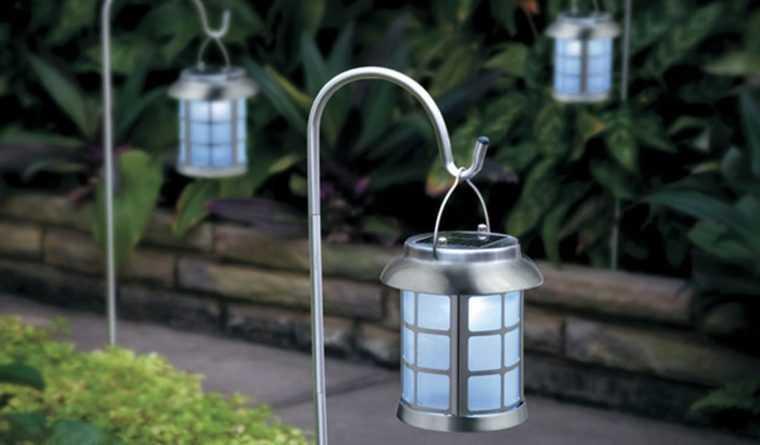 Декоративные подвесные светильники на солнечных батареях
