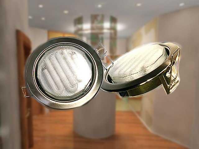 Светодиодные светильники для натяжных потолков отличаются низким энергопотреблением