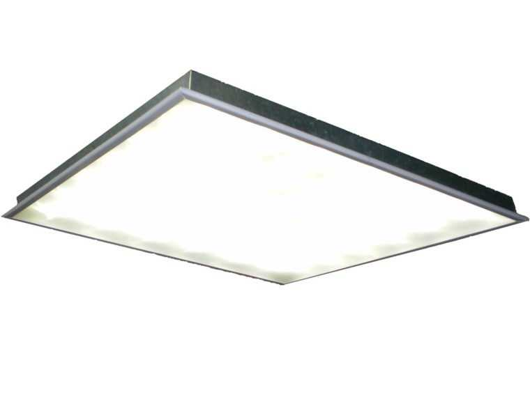 Светодиодные светильники Армстронг отличаются небольшой толщиной и простотой установки