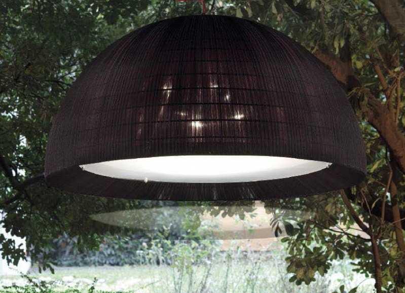 Подвесной наружный светильник купольного типа