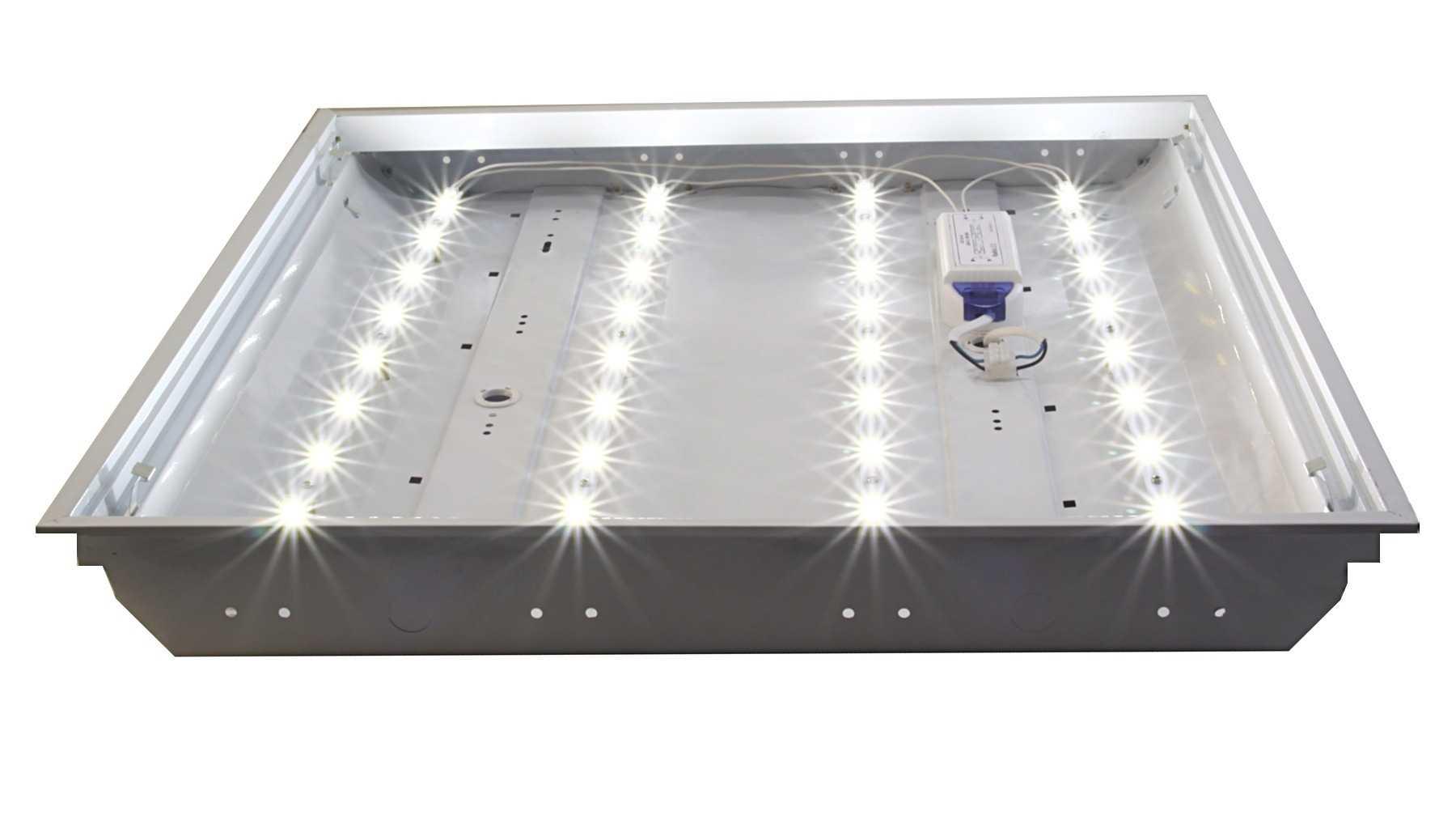 Устройство светодиодного светильника Армстронг