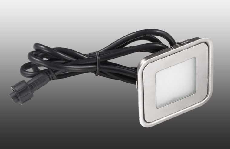 Точечный встраиваемый светильник IP67 для наружного освещения