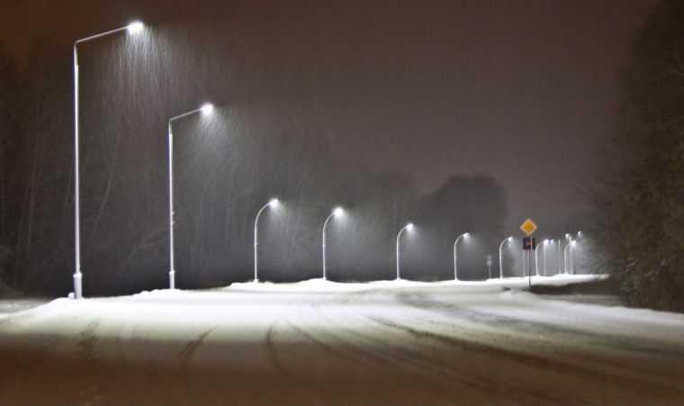Светодиодные светильники все чаще ипользуются для освещения дорог