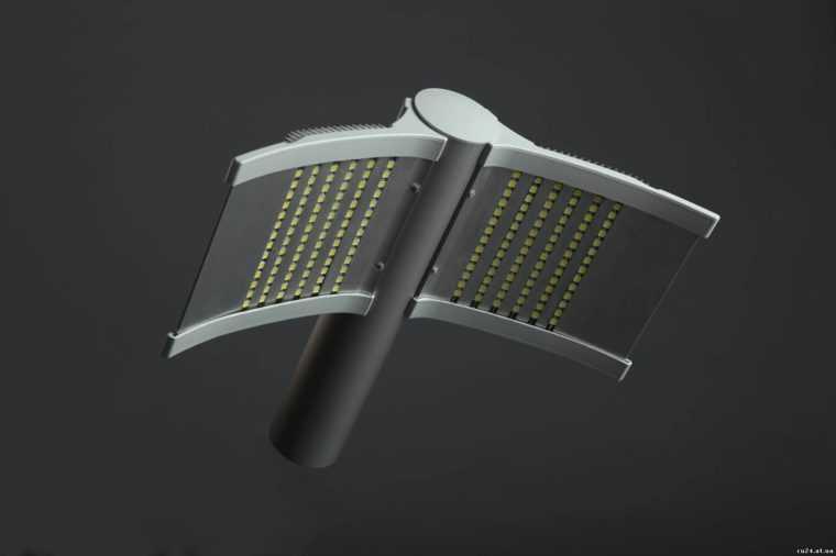 Светодиодный консольный светильник оригинальной формы