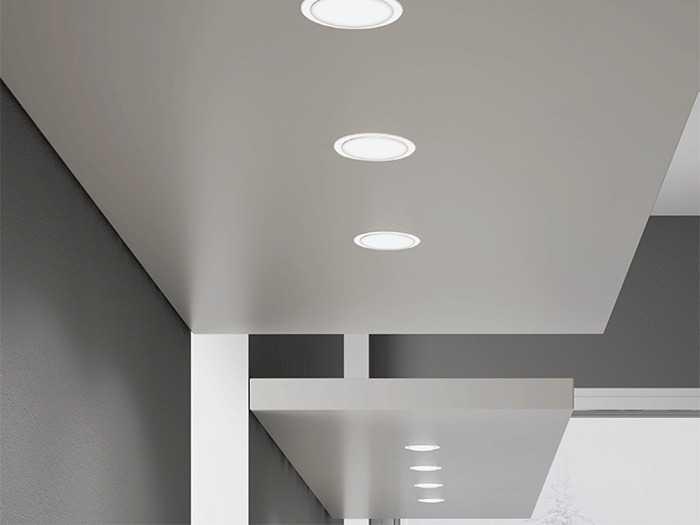 Врезные точечные светильники для мебели