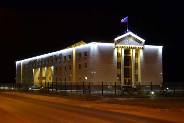 Архитектурная подсветка домов