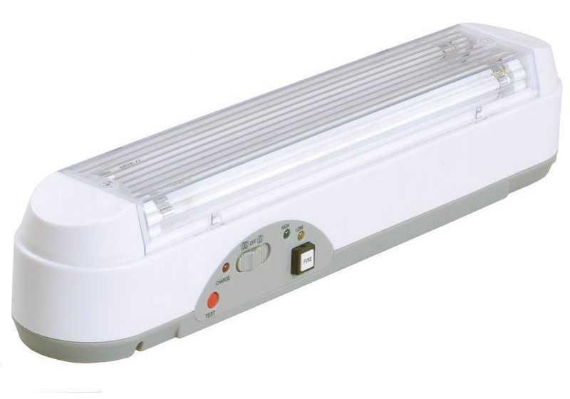 Люминисцентный аккумуляторнный светильник