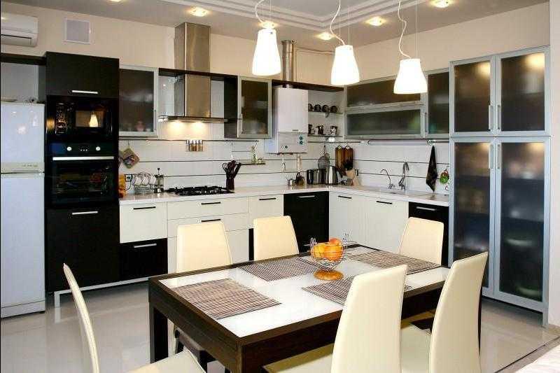 Световой дизайн кухни