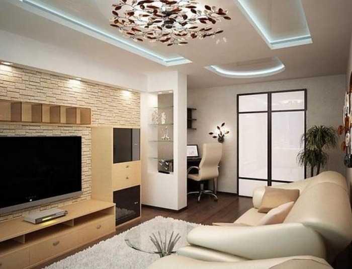 Потолочное освещение помещения