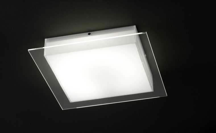 Накладной квадратный светодиодный светильник