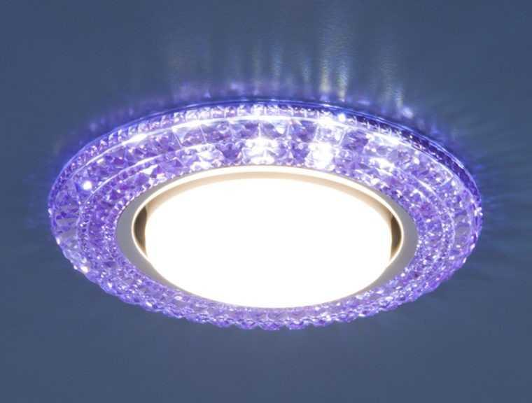 Декоративный встраиваемый точечный светильник