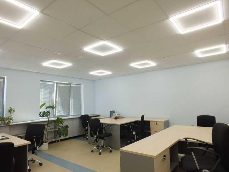 Вариант офисного освещения
