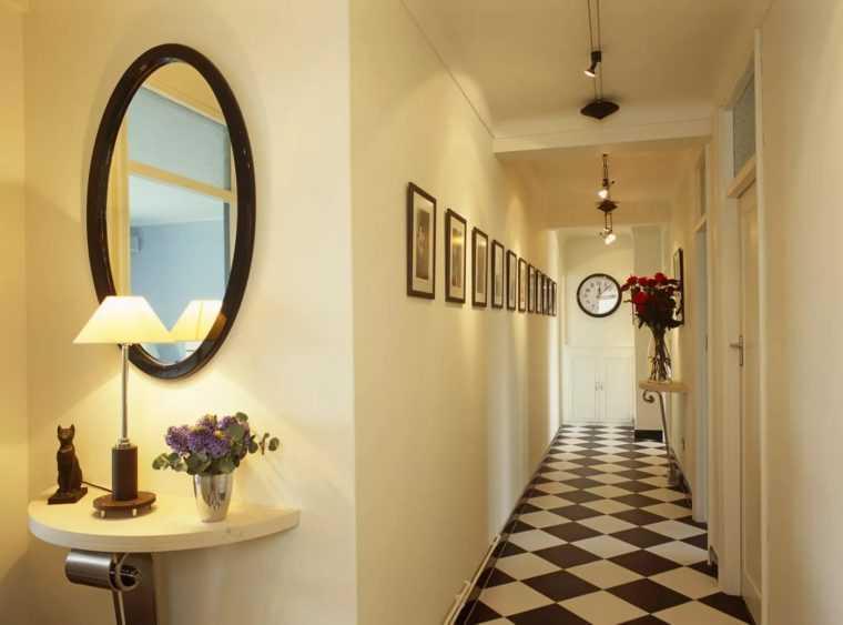 Светильники для коридора удлиненной формы