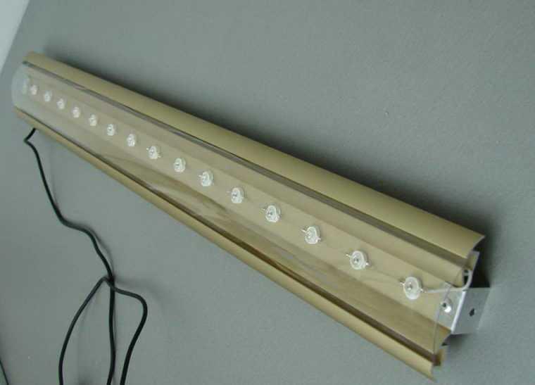 Изготовление ленточного светодиодного светильника своими руками