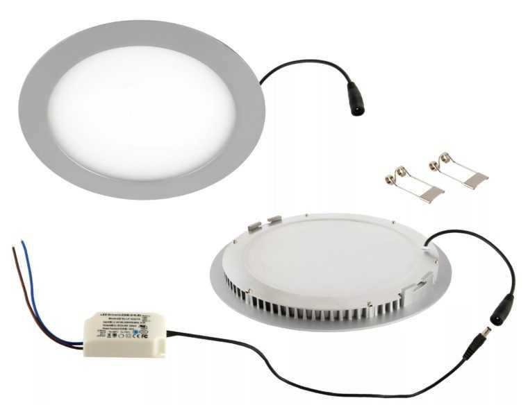 Встраиваемый светодиодный светильник Kreonix с драйвером