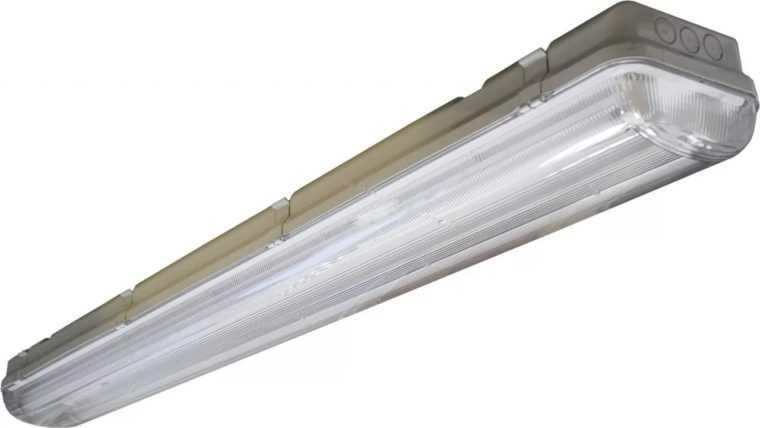 Влагозащищенный светильник ЛСП 2х36 для промышленных объектов