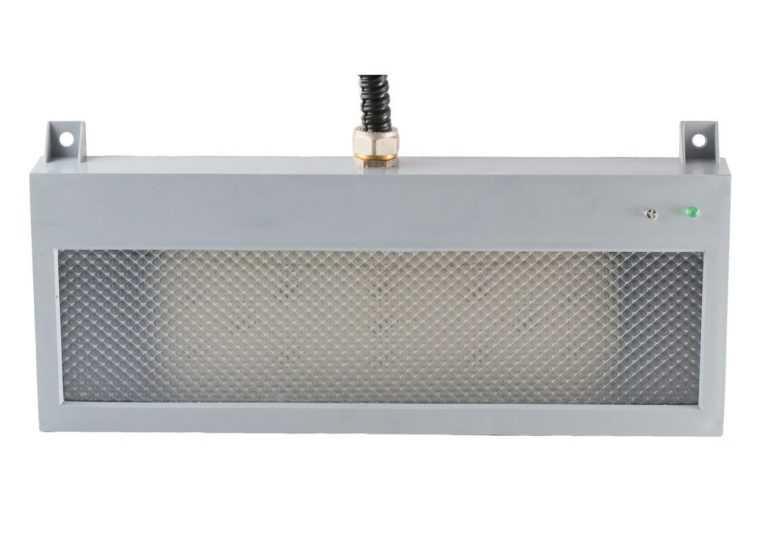 Ударопрочный аварийный светильник с индикатором заряда батареи