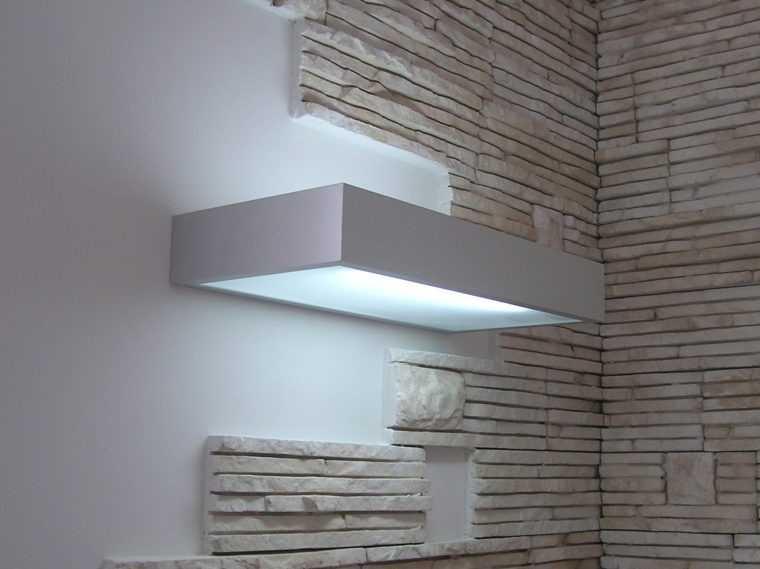 Настенный светильник в стиле хай тек
