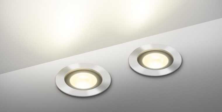 Встраиваемые в пол точечные LED-светильники