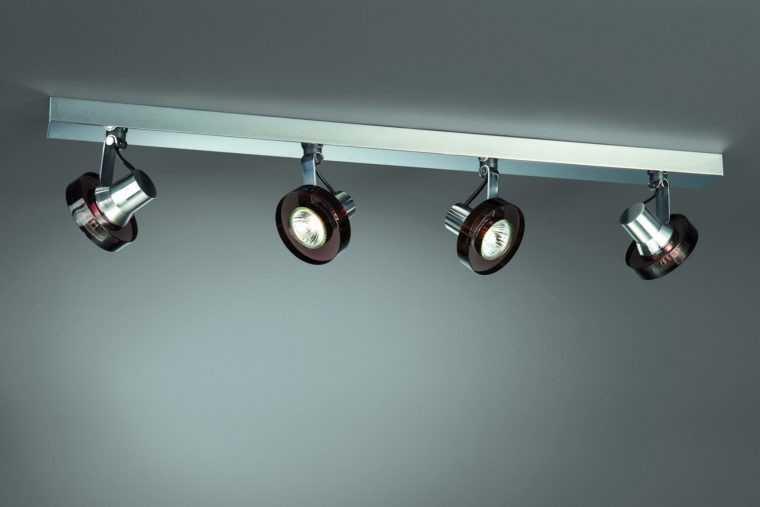 Потолочные светильники металлические