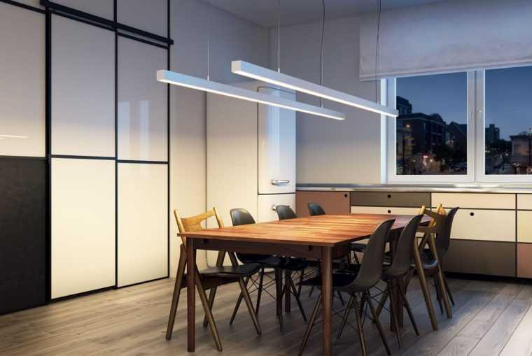 Подвесные линейные светодиодные светильники