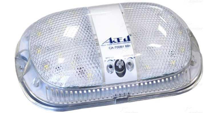 Влагозащищенный светодиодный светильник для ЖКХ