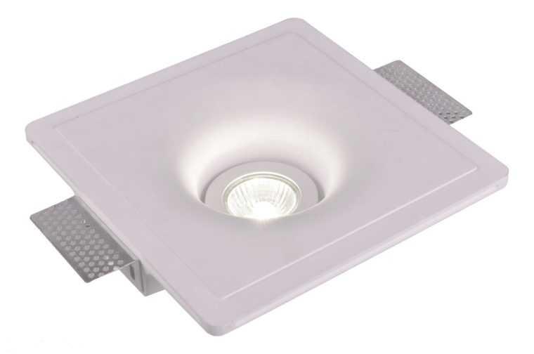 Точечный светильник Invisible A9410PL-1WH с гипсовым корпусом