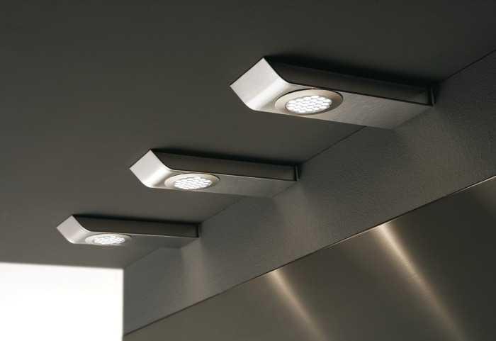 Мебельные накладные LED светильники