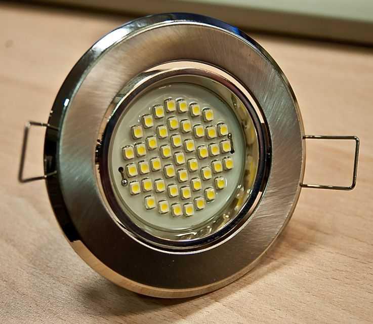 Встраиваемый светодиодный точечный светильник