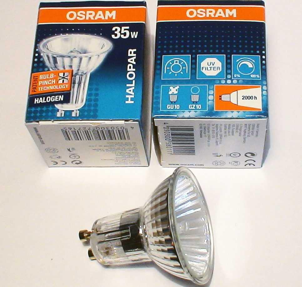 Галогеновая лампочка HALOPAR16 230V 35W