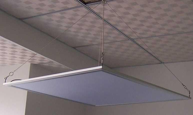 Подвесная светодиодная панель