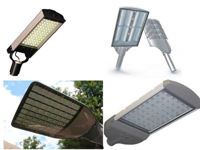 Уличные светильники для установки на столбы