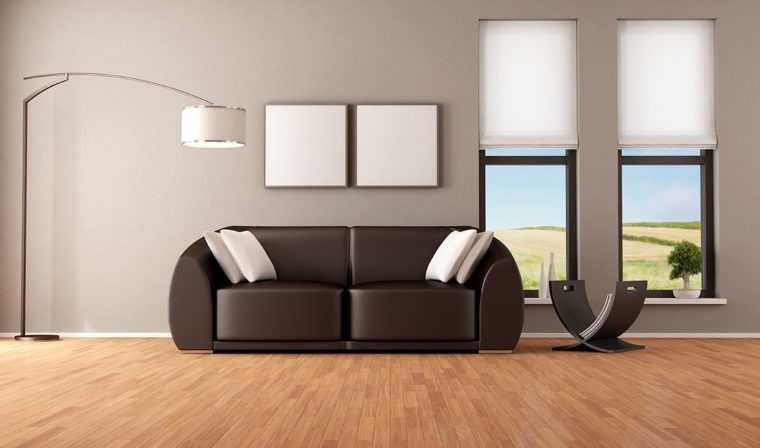 Дизайнерский торшер в интерьере квартиры