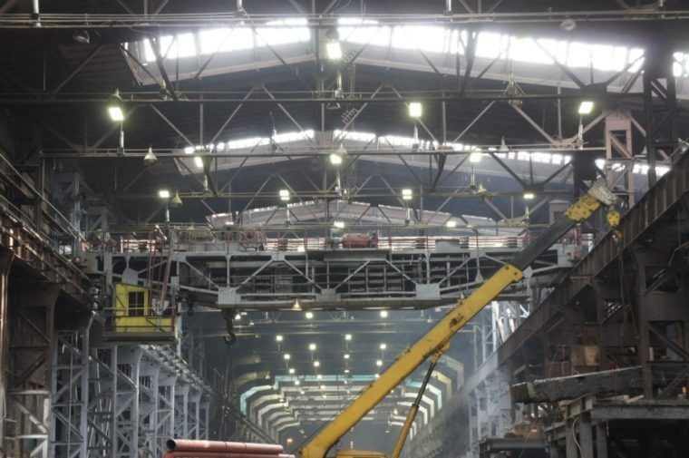 Комбинированное освещение для производственных помещений