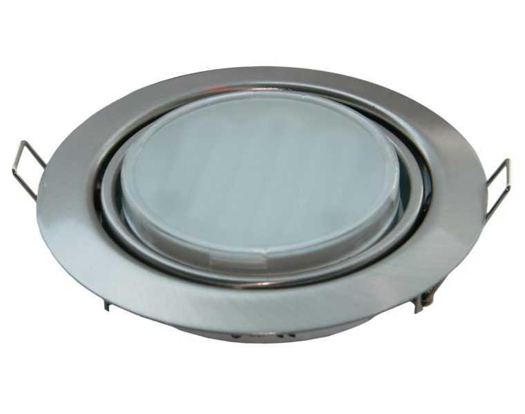 Встраиваемый светодиодный светильник Ecola GX53