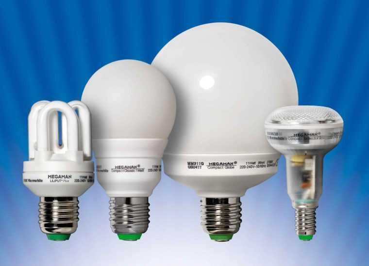 Энергосберегающие лампы для светильников