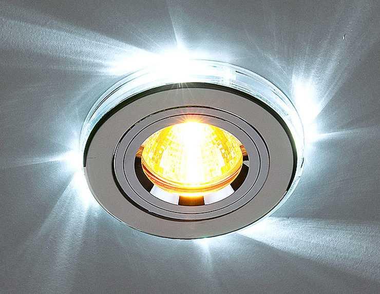 Точечный светильник с галогенной лампой